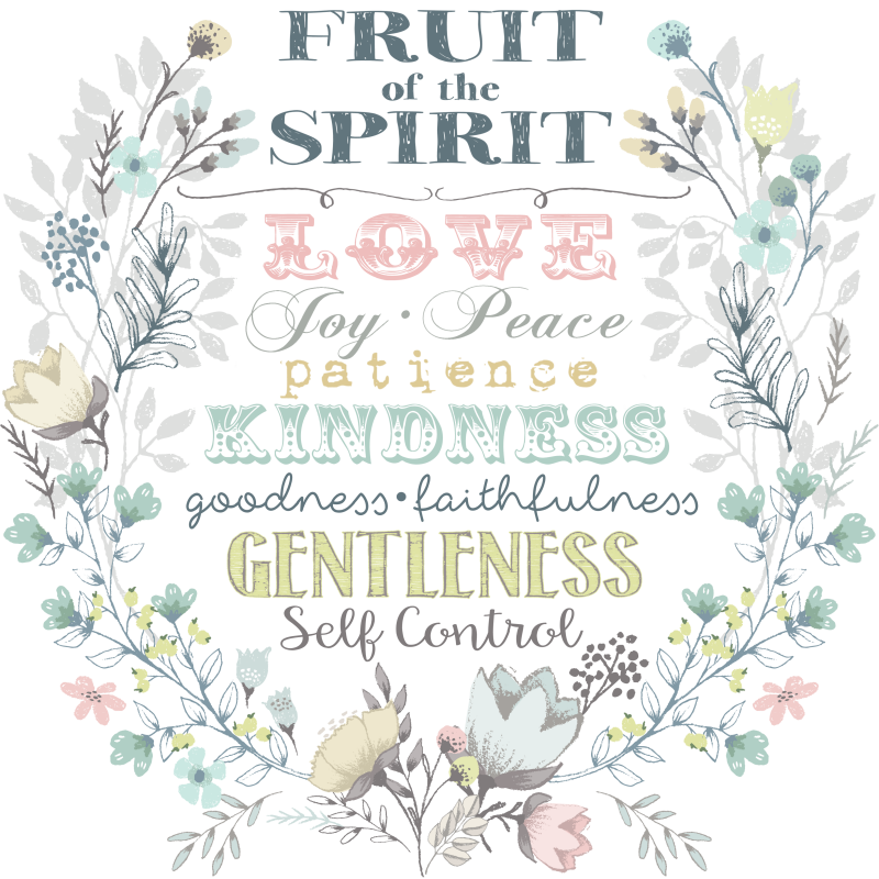 photograph regarding Fruit of the Spirit Printable named Fruit of the Spirit Printable