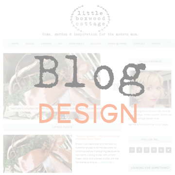 Blog Design by Small(ish) Design